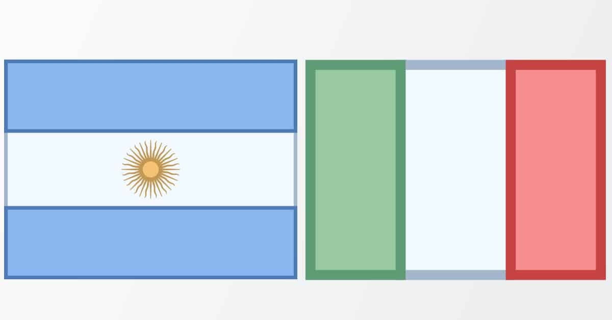 Historia de la inmigracion italiana en Argentina