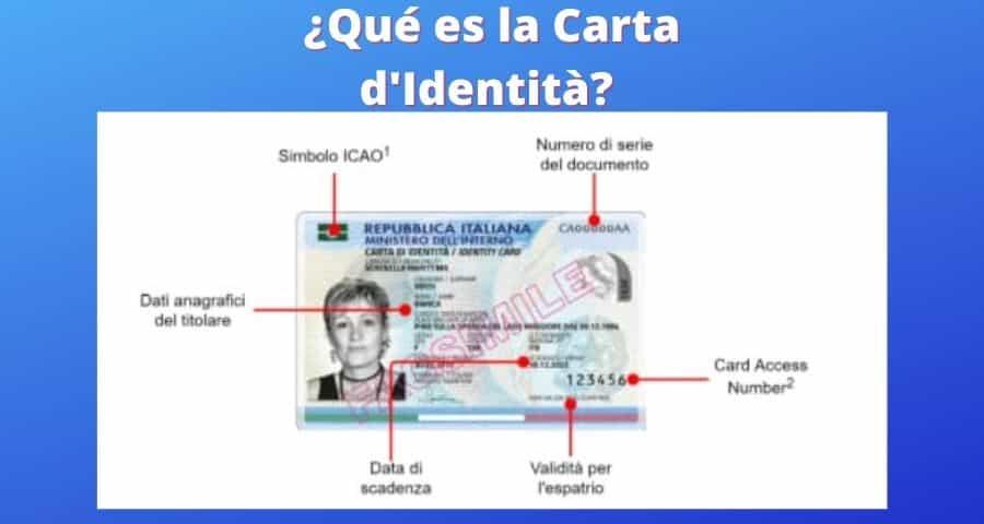¿Qué es la Carta d'Identità?