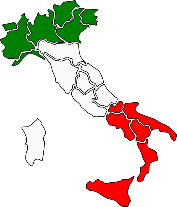 regiones italia organizacion territorial