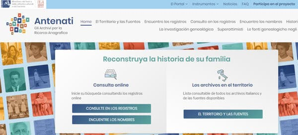 archivos genealogicos