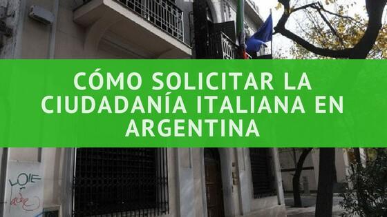 Cómo solicitar la ciudadanía italiana en Argentina