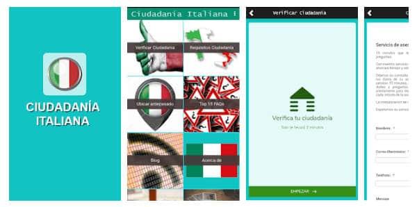 Conoce la nueva app de Gestionista Italia'Ciudadanía italiana'