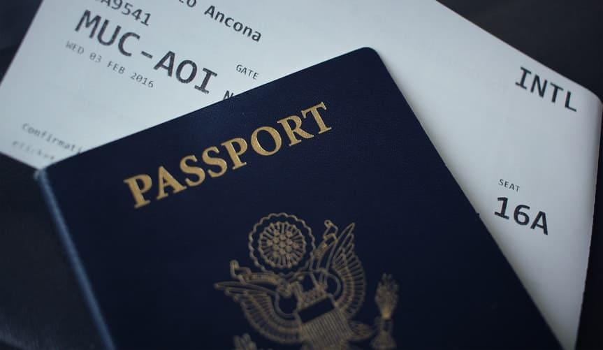 pasaporte para entrar a italiano