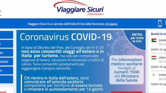En qué te ayuda la Unidad de Crisis del Gobierno italiano