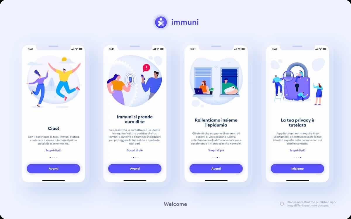 cómo funciona la app Immuni